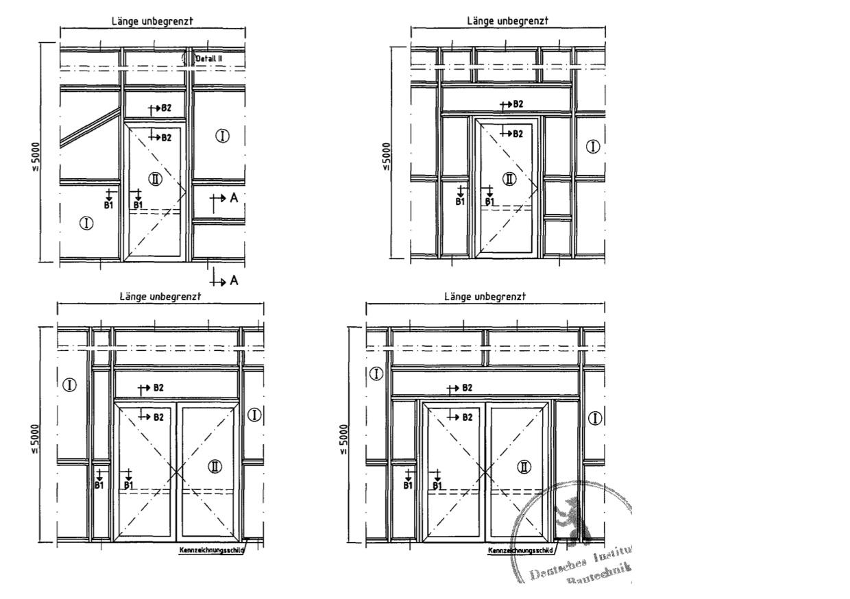 Außentür detail fußpunkt  F30-Brandschutzverglasungen | TSH Systeme GmbH
